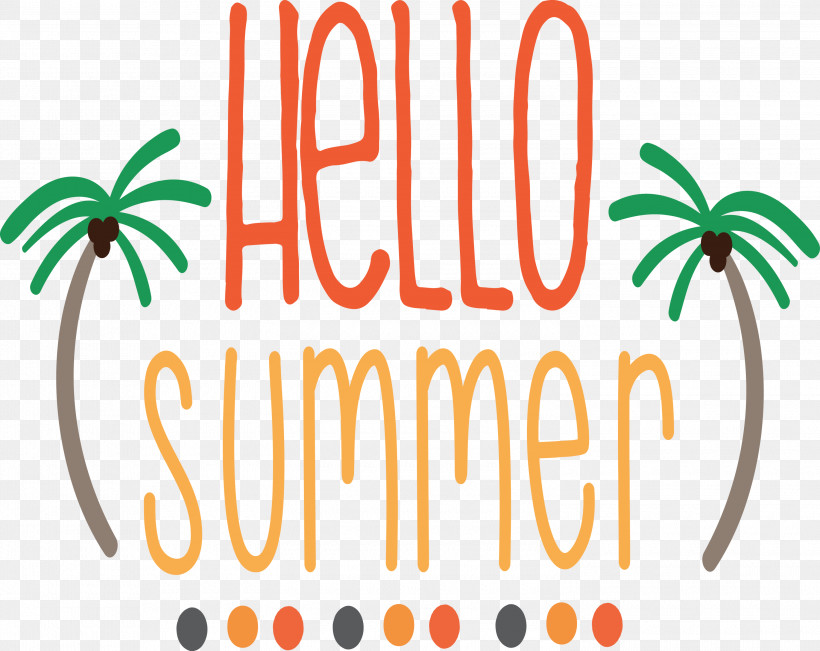 Hello Summer, PNG, 3000x2384px, Hello Summer, Logo, Silhouette, Summer, Text Download Free