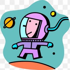 Astronaut - Clip Art Vector Graphics Illustration Image Euclidean Vector PNG