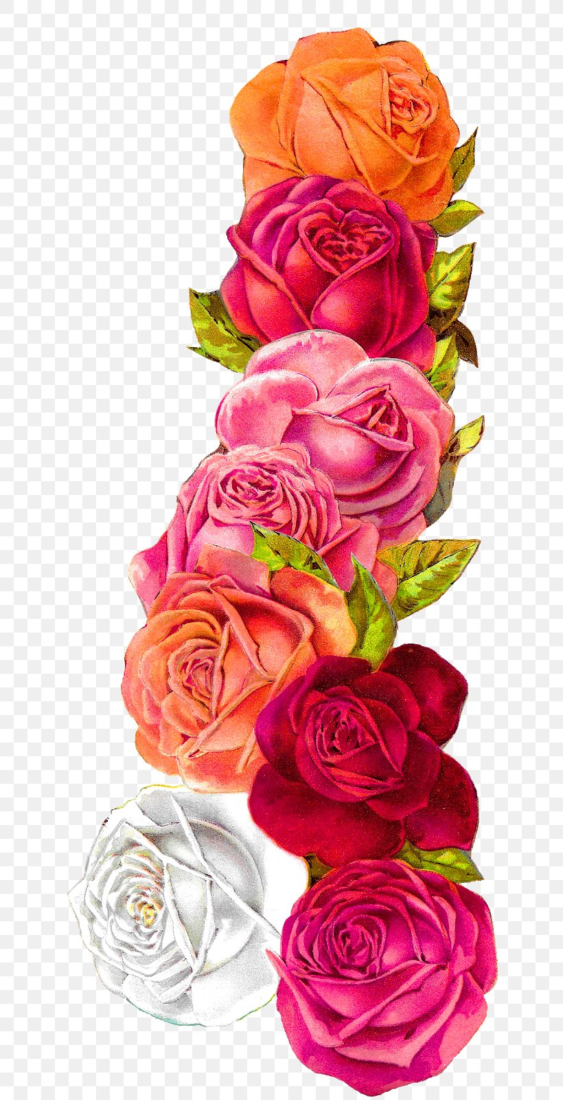Como La Miel De Abejas Mil Flores - Shabby Chic Flowers Png , Free  Transparent Clipart - ClipartKey