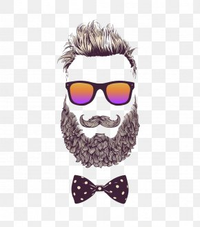 Personalized Bearded Man - Hipster Stock Photography Royalty-free Illustration PNG