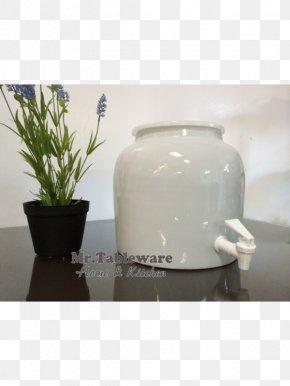 Ceramic Tableware - Ceramic Porcelain Water Cooler Flowerpot Crock PNG