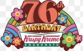 Krispy Kreme Logo - Donuts Krispy Kreme Cuisine National Doughnut Day Hamburger PNG