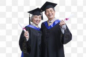 Old School Graduation Photo - Student Graduation Ceremony University Business School Academic Dress PNG