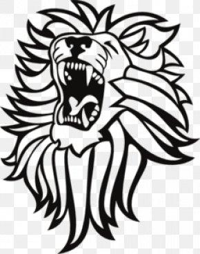 Lion Roar Cliparts - Lion Roar Tiger Clip Art PNG