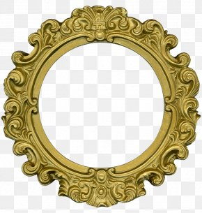 Gold Lace - Picture Frames Ornament Decorative Arts Clip Art PNG
