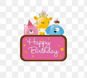 Happy Birthday Tag - Birthday Cake Wedding Invitation Greeting Card Clip Art PNG