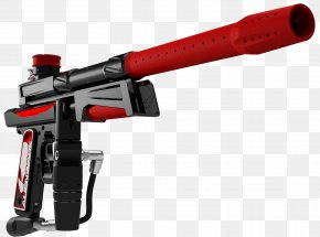Paintball - Firearm Air Gun Weapon Rendering Paintball Guns PNG