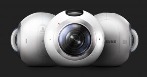 360 Camera - Samsung Galaxy Samsung Gear 360 Samsung Gear VR Virtual Reality Headset Camera PNG