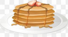 Bread Breakfast - Pancake Full Breakfast Illustration PNG