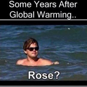 Leonardo Dicaprio - Leonardo DiCaprio Titanic Global Warming Climate Change PNG