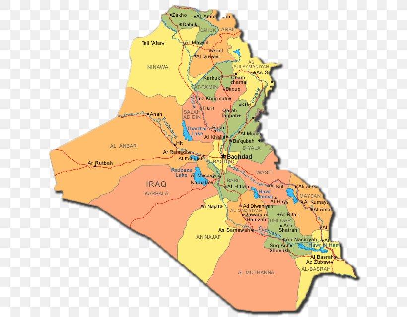 Mesopotamia World Map Governorates Of Iraq Ramadi, PNG ...
