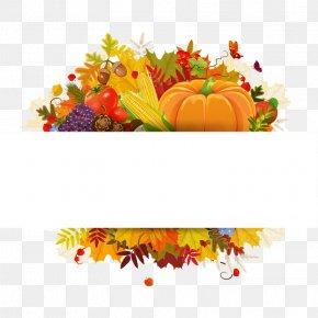 Flowers,flowers - Thanksgiving Dinner Clip Art PNG