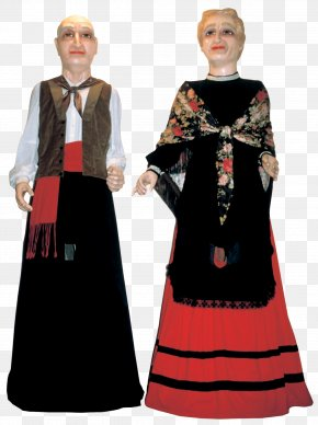 Comparsa De Gigantes Y Cabezudos - Gown Formal Wear Clothing Outerwear STX IT20 RISK.5RV NR EO PNG