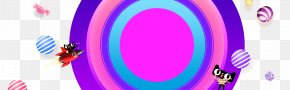Lynx Colored Background Material - Material Ball Tmall Android Wallpaper PNG