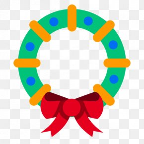 Cherry Decoration - Christmas Decoration Wreath Clip Art PNG