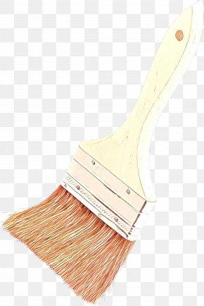 Kitchen Utensil Wood - Paint Brush Cartoon PNG