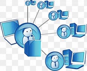 Technology Computer Network - Text Clip Art Computer Network Line Technology PNG