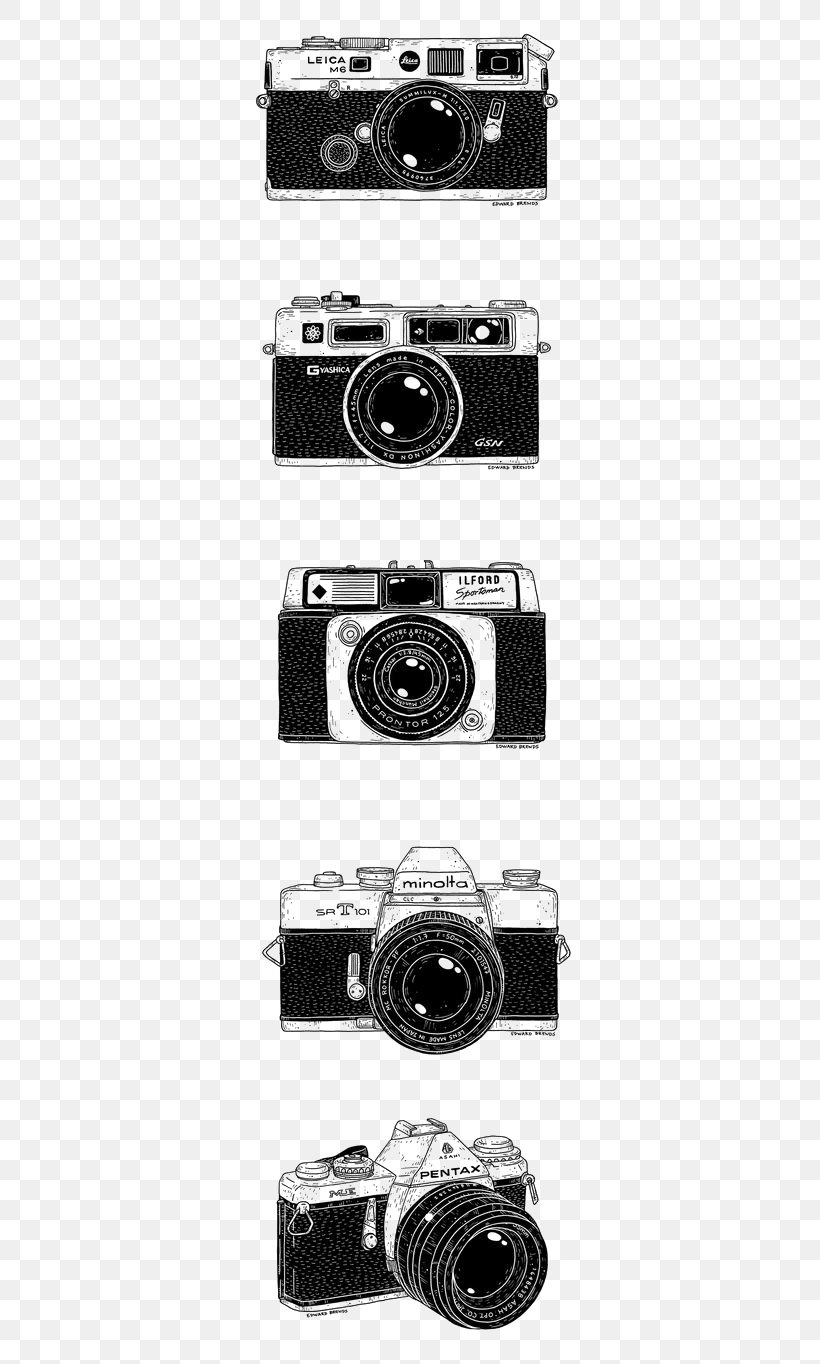 Camera Lens Drawing Photography Black And White, PNG, 564x1364px, Camera, Art, Black And White, Camera Lens, Drawing Download Free