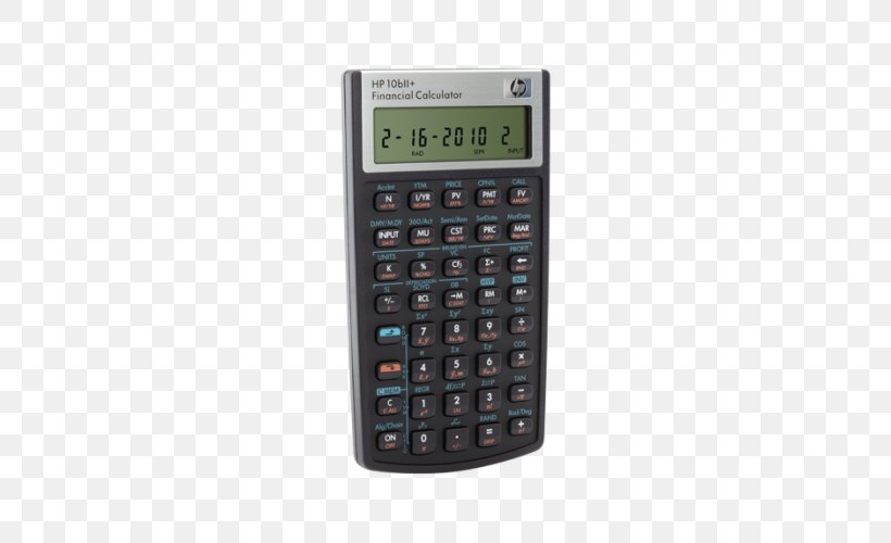 Hp 10bii Financial Calculator Hewlett