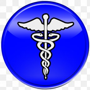 Caduceus Medical Symbol - Registered Respiratory Therapist Therapy Chronic Obstructive Pulmonary Disease Clinic PNG