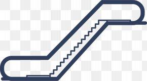 Cartoon Escalator Icon - Escalator Stairs Elevator Euclidean Vector PNG