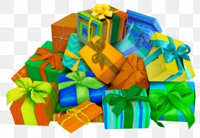 Gift - Gift Box Color Image PNG