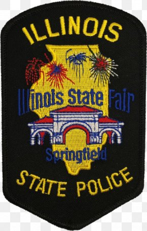 Police Station Policeman Motorcycle - Illinois State Police Bureau County, Illinois Police Officer Badge PNG