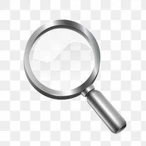Black Magnifying Glass - Magnifying Glass Magnifier PNG