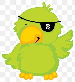 Pirate Parrot - Piracy Papagaio De Pirata Pirate Parrot Clip Art PNG