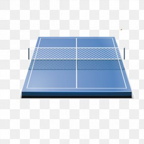 Table Tennis Tables Blue - Table Tennis Sport Icon PNG