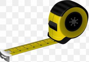 Meter - Tape Measures Measurement Adhesive Tape Measuring Instrument Clip Art PNG