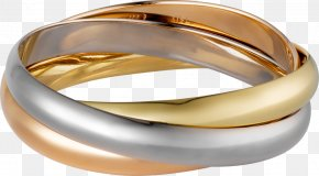 Jewellery - Cartier Jewellery Colored Gold Earring Bracelet PNG