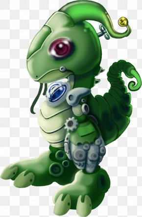 Chameleon - Toy Figurine Cartoon Organism Character PNG