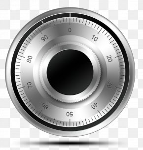 Round Scale - Safe-cracking Combination Lock Padlock PNG