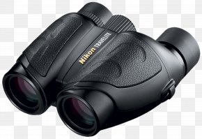 Binoculars - Binoculars Nikon Porro Prism Camera Photography PNG