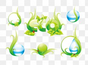 Blue Water Drops Vector - Theme Natural Environment Icon PNG