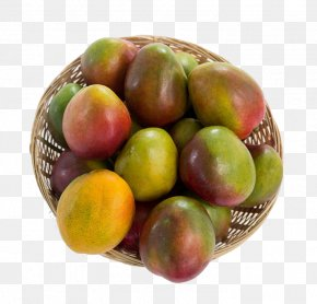 A Basket Of Mango - Juice Mango Basket Stock Photography Fruit PNG
