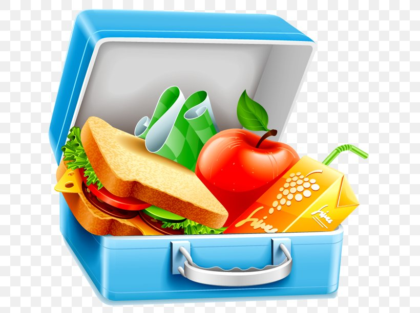 Lunchbox Clip Art, PNG, 750x612px, Lunchbox, Box, Diet Food, Fast Food, Food Download Free