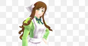 Senbonzakura - Long Hair Cartoon Figurine Character PNG