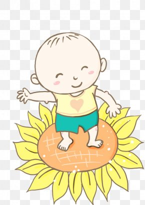 Sunflower Baby Laughs - Baby Laugh Infant Android PNG