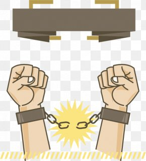 Fists Handcuffs - Euclidean Vector Icon PNG