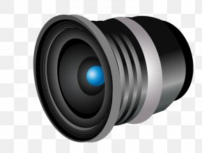 Hand-painted The Camera Lens - Camera Lens Telescope Illustration PNG