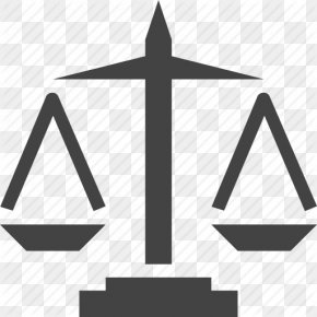 Justice, Law, Scale Icon - Symbol Measuring Scales Lady Justice Clip Art PNG