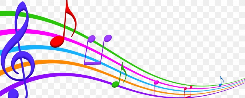Music Note, PNG, 2040x824px, Musical Note, Color, Colored Music Notation, Coloring Book, Music Download Free