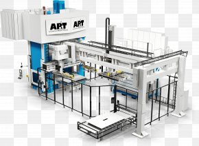 Factory Production Line - AP&T Hot Working Production Line Aluminium Automation PNG