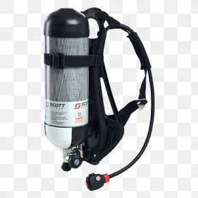 Scba Air Cylinders - Self-contained Breathing Apparatus Industry Firefighting Дыхательный аппарат Compressed Air PNG
