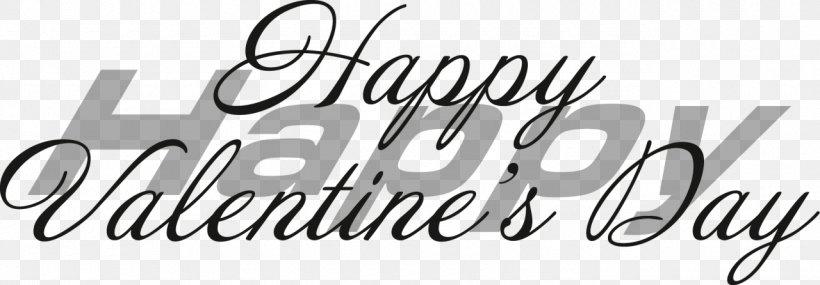 Valentine's Day Desktop Wallpaper Clip Art, PNG, 1280x446px, Valentine S Day, Aspect Ratio, Black, Black And White, Brand Download Free