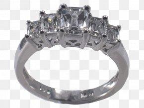 Vector Diamond Ring - Engagement Ring Jewellery Diamond Gemstone PNG