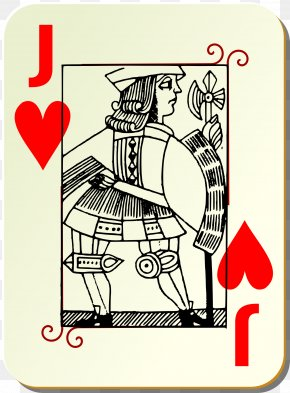 Cards - Jack Playing Card Hearts Clip Art PNG