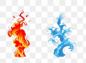 Blue Fire - Fire Flame Drop PNG